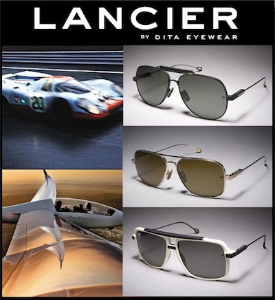 8aef1421355 In total this means that the 2011 Lancier range encompasses fifteen  individual pairs of sunglasses.